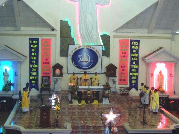 Hình ảnh nhà thờ Giáo xứ Cây Vông