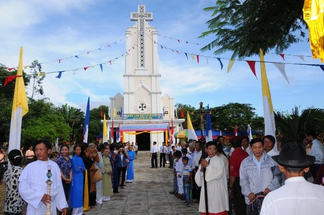 Lễ Bổn mạng giáo xứ Tân quán