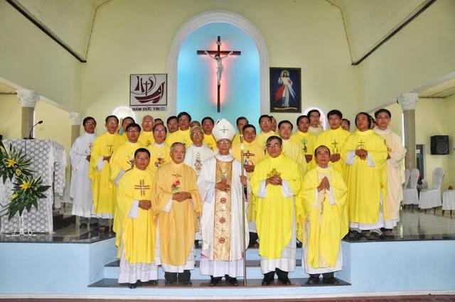 Thánh lễ tạ ơn 50 năm nhà thờ giáo xứ Ngọc Thạnh